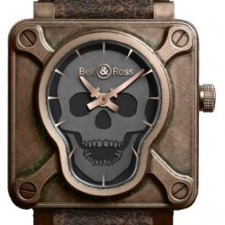 Bell & Ross Aviation BR 01 Skull Bronze Watch Replica