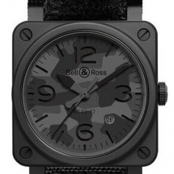 Bell & Ross Aviation BR 03-92 Black Camo Watch Replica
