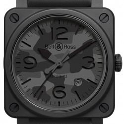 Bell & Ross BR03-92 Automatic 42mm Mens Watch Replica BR0392-CAMO-CE/SRB