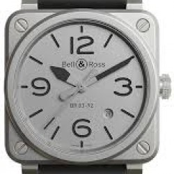 Bell & Ross Br 03-92 Horoblack Automatic 42mm Mens Watch Replica BR0392-GBL-ST/SRB