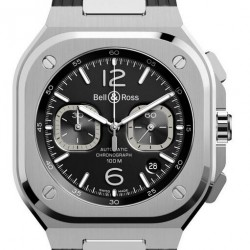 Bell & Ross BR 05 Black Steel Watch Replica BR05C-BL-ST/SRB