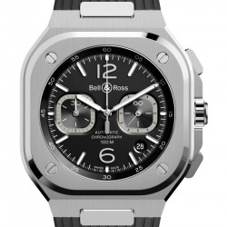 Bell & Ross Br 05 Black Steel Watch Replica BR05C-BL-ST/SST