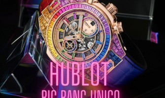 Hublot launches the new Big Bang Unico High Jewelry Rainbow watch