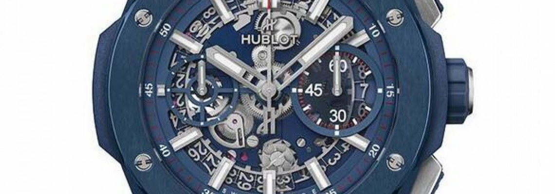 Hublot Big Bang Integral Blue Ceramic Watch 451.EX.5123.EX