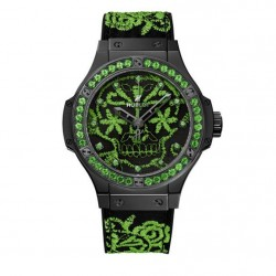 Hublot Big Bang Broderie Sugar Skull Fluo Watch Replica 343.CG.6590.NR.1222