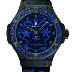 Hublot Big Bang Broderie Sugar Skull Fluo Watch Replica 343.CL.6590.NR.1201