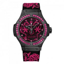 Hublot Big Bang Broderie Sugar Skull Fluo Watch Replica 343.CP.6590.NR.1233
