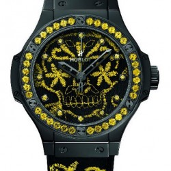 Hublot Big Bang Broderie Sugar Skull Fluo Watch Replica 343.CY.6590.NR.1211