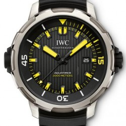 IWC Aquatimer 2000 Diver Titanium 46mm Watch Replica IW358001