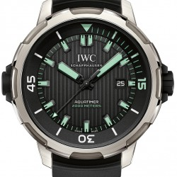 IWC Aquatimer 2000 Titanium Mens Watch Replica IW358002