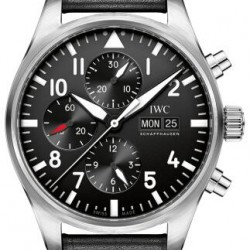 IWC Pilot's Chronograph Mens Watch Replica IW377709