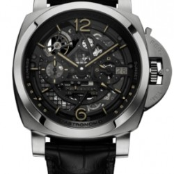 Panerai Luminor 1950 L'Astronomo Tourbillon Moon Phases Equation of Time GMT Watch Replica PAM00920