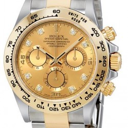 Rolex Cosmograph Daytona Champagne Diamond Watch Replica 116503CDO