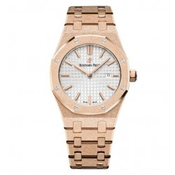 Audemars Piguet Royal Oak Frosted Gold Watch Replica 67653OR.GG.1263OR.01