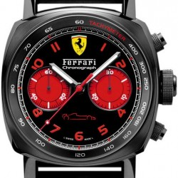 Panerai Ferrari Chronograph 45mm DLC Watch Replica FER00038