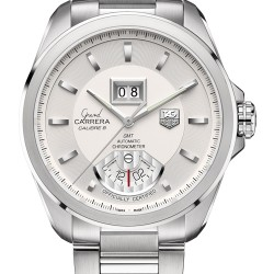 TAG Heuer Grand Carrera Grand Date GMT Watch Replica WAV5112.BA0901